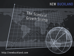 Science of growth strategy